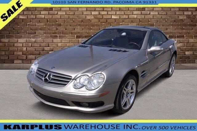 2006 Mercedes-Benz SL-Class for sale at Karplus Warehouse in Pacoima CA