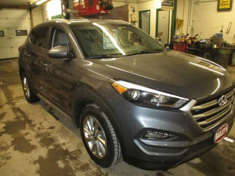 2017 Hyundai Tucson for sale at Percy Bailey Auto Sales Inc in Gardiner ME