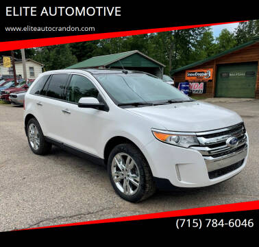 2011 Ford Edge for sale at ELITE AUTOMOTIVE in Crandon WI