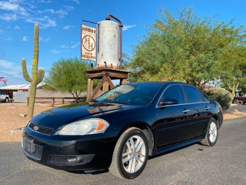 2013 Chevrolet Impala for sale at Double H Auto Exchange in Queen Creek AZ