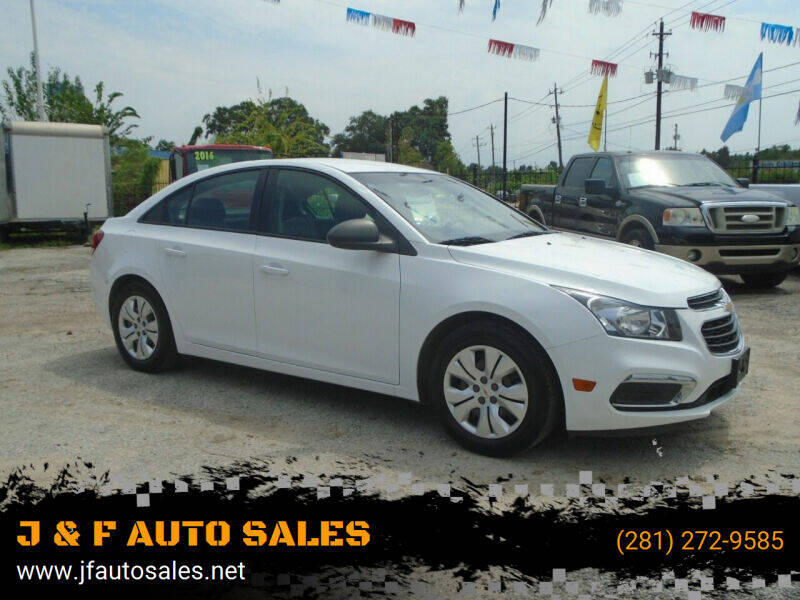 2015 Chevrolet Cruze for sale at J & F AUTO SALES in Houston TX