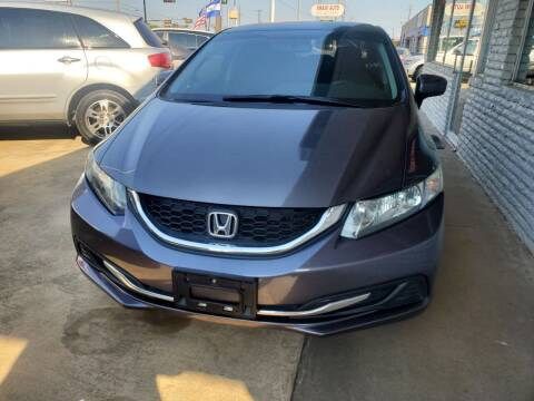 2015 Honda Civic for sale at SP Enterprise Autos in Garland TX
