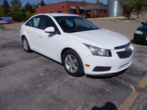 2013 Chevrolet Cruze for sale at Governor Motor Co in Jefferson City MO