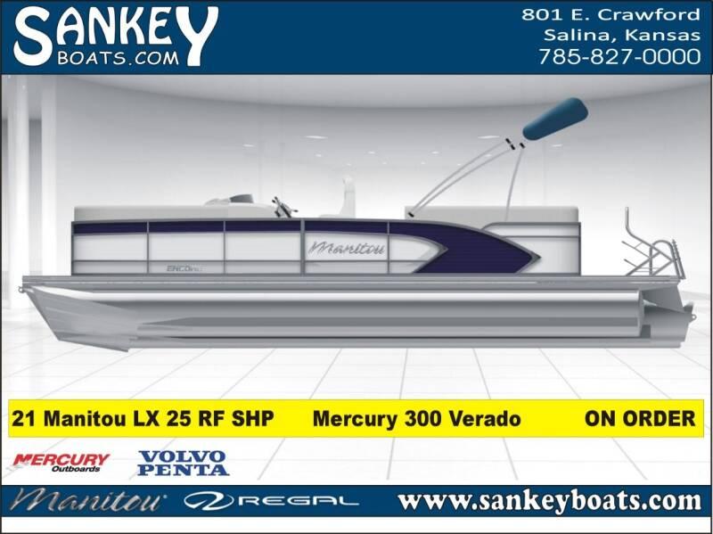 2021 Manitou LX 25 RF SHP for sale at SankeyBoats.com in Salina KS