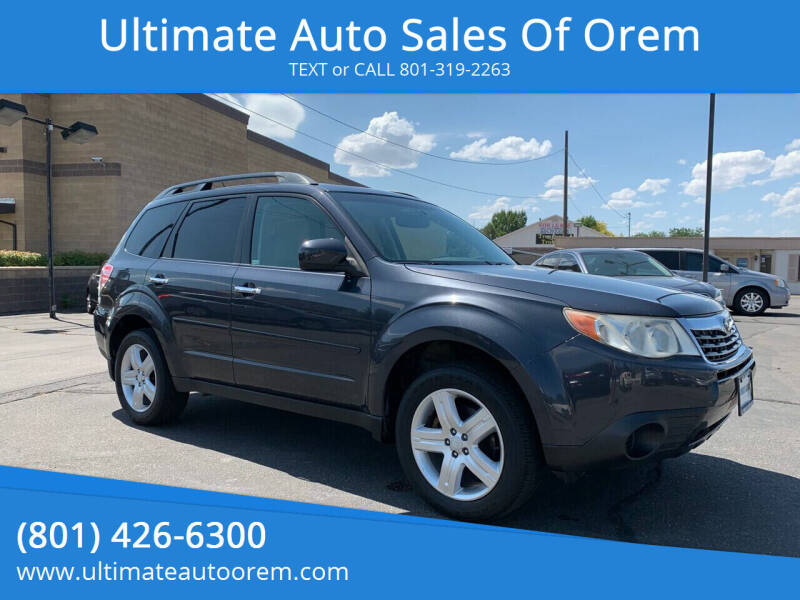 2010 Subaru Forester for sale at Ultimate Auto Sales Of Orem in Orem UT