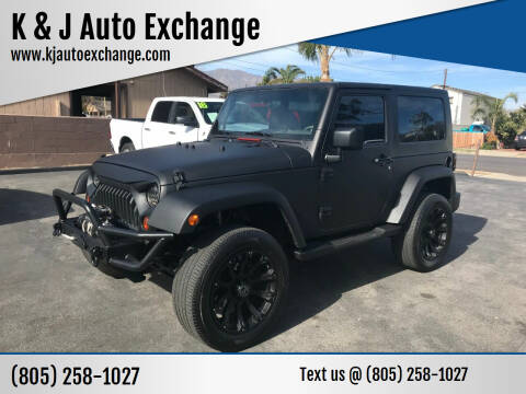2009 Jeep Wrangler for sale at K & J Auto Exchange in Santa Paula CA