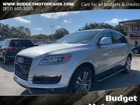 2009 Audi Q7 for sale at Budget Motorcars in Tampa FL