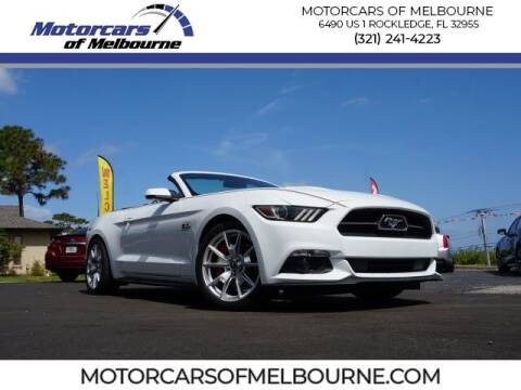 2015 Ford Mustang for sale at Motorcars of Melbourne in Rockledge FL