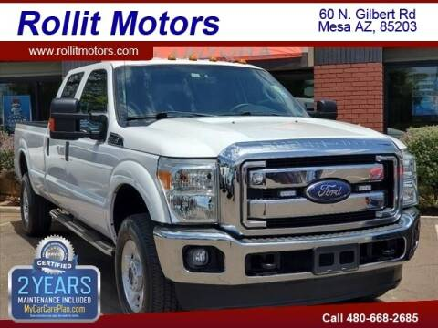 2015 Ford F-350 Super Duty for sale at Rollit Motors in Mesa AZ