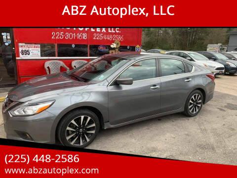2018 Nissan Altima for sale at ABZ Autoplex, LLC in Baton Rouge LA
