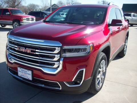 2021 GMC Acadia for sale at Nemaha Valley Motors in Seneca KS