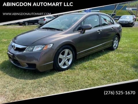 2010 Honda Civic for sale at ABINGDON AUTOMART LLC in Abingdon VA