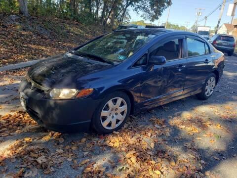 2006 Honda Civic for sale at CRS 1 LLC in Lakewood NJ