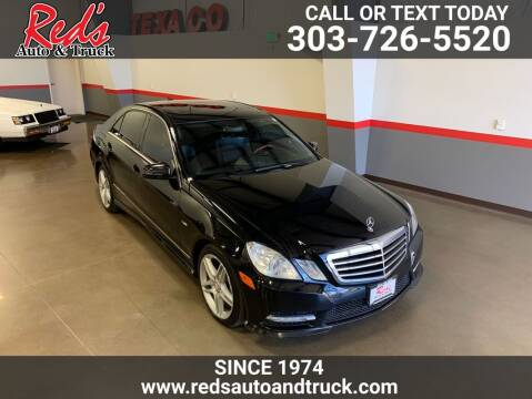 2012 Mercedes-Benz E-Class for sale at Red's Auto and Truck in Longmont CO