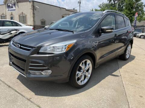 2015 Ford Escape for sale at T & G / Auto4wholesale in Parma OH