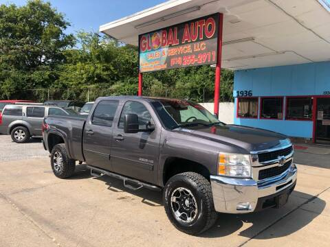 2010 Chevrolet Silverado 2500HD for sale at Global Auto Sales and Service in Nashville TN