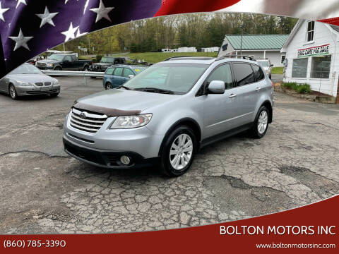 2012 Subaru Tribeca for sale at BOLTON MOTORS INC in Bolton CT