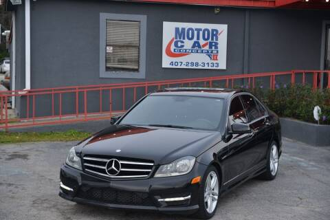 2014 Mercedes-Benz C-Class for sale at Motor Car Concepts II - Kirkman Location in Orlando FL
