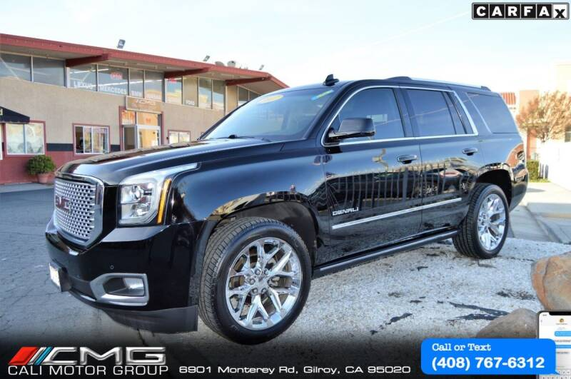 2017 GMC Yukon for sale at Cali Motor Group in Gilroy CA