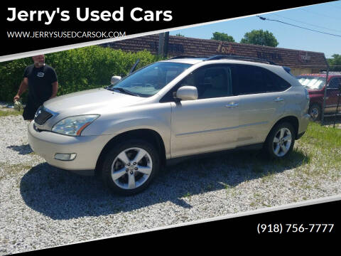2008 Lexus RX 350 for sale at Jerry's Used Cars in Okmulgee OK
