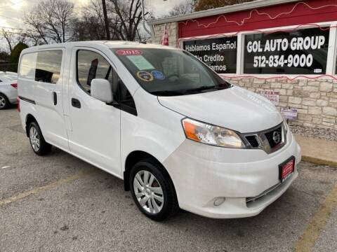 2015 Nissan NV200 for sale at GOL Auto Group in Austin TX