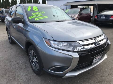 2018 Mitsubishi Outlander for sale at CAR GENERATION CENTER, INC. in Los Angeles CA