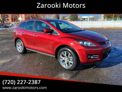2008 Mazda CX-7 for sale at Zarooki Motors in Englewood CO