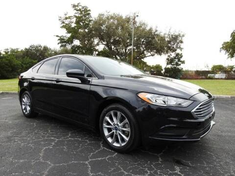 2017 Ford Fusion for sale at SUPER DEAL MOTORS 441 in Hollywood FL