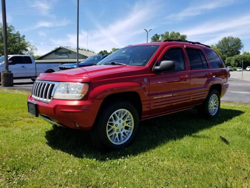 2004 Jeep Grand Cherokee for sale at Ridgeway's Auto Sales in West Frankfort IL
