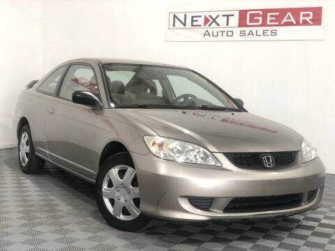 2004 Honda Civic for sale at Next Gear Auto Sales in Westfield IN
