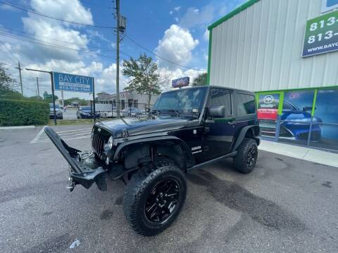 2017 Jeep Wrangler for sale at Bay City Autosales in Tampa FL