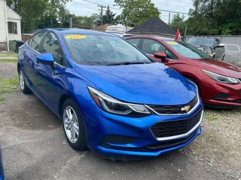 2017 Chevrolet Cruze for sale at C & M Auto Sales in Detroit MI