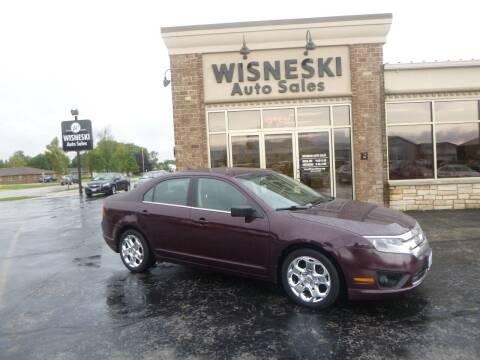 2011 Ford Fusion for sale at Wisneski Auto Sales, Inc. in Green Bay WI