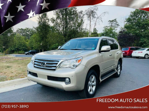 2013 Lexus GX 460 for sale at Freedom Auto Sales in Chantilly VA