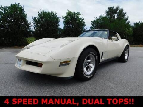 1980 Chevrolet Corvette for sale at West Georgia Auto Brokers in Douglasville GA