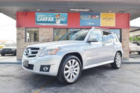 2010 Mercedes-Benz GLK for sale at ALWAYSSOLD123 INC in North Miami Beach FL