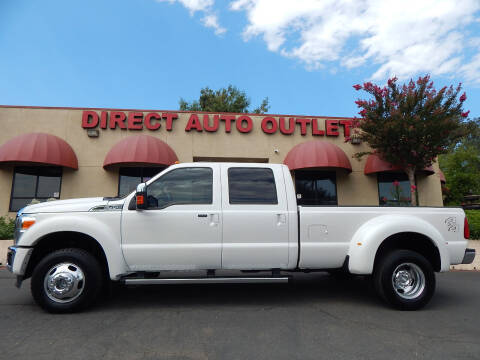 2011 Ford F-450 Super Duty for sale at Direct Auto Outlet LLC in Fair Oaks CA