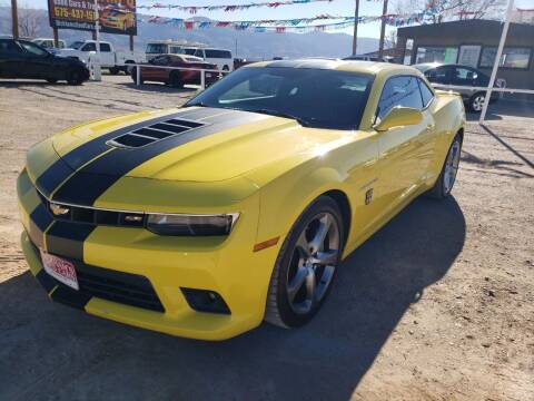 2014 Chevrolet Camaro for sale at Bickham Used Cars in Alamogordo NM