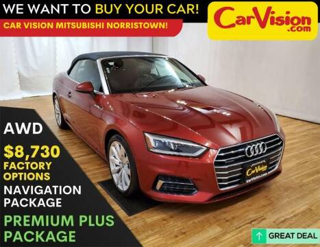 2018 Audi A5 for sale at Car Vision Mitsubishi Norristown in Trooper PA