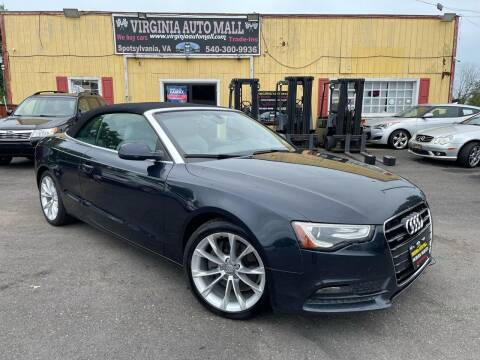 2014 Audi A5 for sale at Virginia Auto Mall in Woodford VA