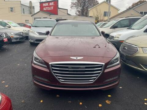 2016 Hyundai Genesis for sale at Park Avenue Auto Lot Inc in Linden NJ