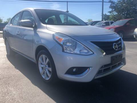2015 Nissan Versa for sale at Action Automotive Service LLC in Hudson NY