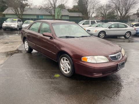 2001 Mazda 626 for sale at Blue Line Auto Group in Portland OR