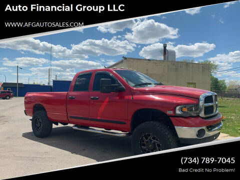 2005 Dodge Ram Pickup 2500 for sale at Auto Financial Group LLC in Flat Rock MI