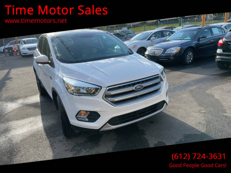 2017 Ford Escape for sale at Time Motor Sales in Minneapolis MN