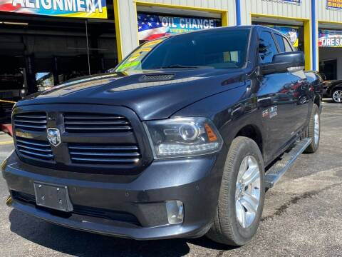 2014 RAM Ram Pickup 1500 for sale at RoMicco Cars and Trucks in Tampa FL