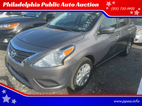2017 Nissan Versa for sale at Philadelphia Public Auto Auction in Philadelphia PA