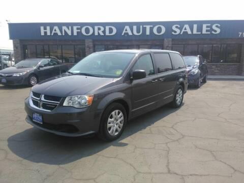 2016 Dodge Grand Caravan for sale at Hanford Auto Sales in Hanford CA