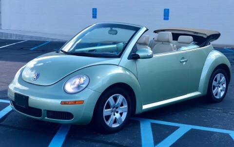 2007 Volkswagen New Beetle for sale at Carland Auto Sales INC. in Portsmouth VA