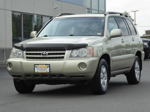 2003 Toyota Highlander for sale at Loudoun Motor Cars in Chantilly VA
